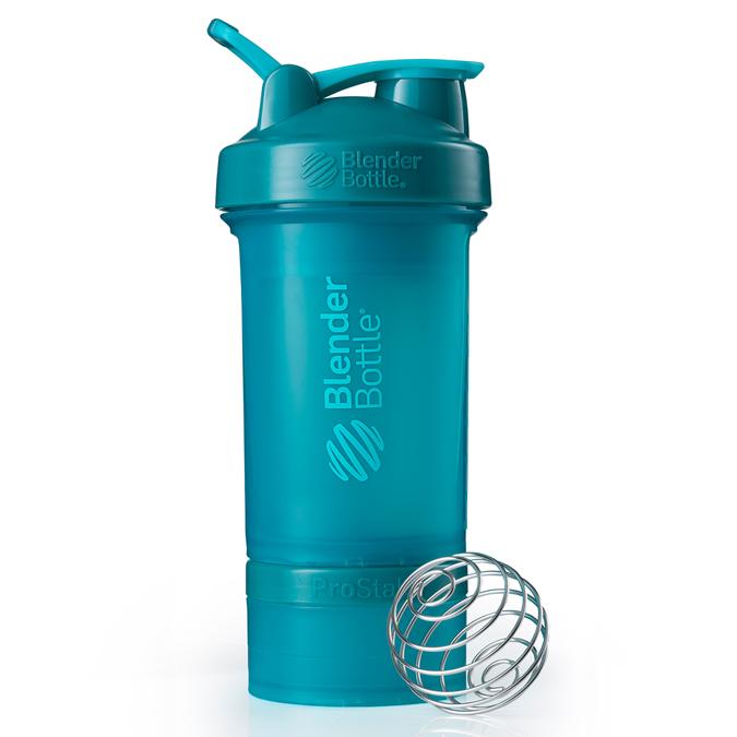 BlenderBottle&reg; ProStak&reg;<br>ブレンダーボトル プロスタック Full Color Teal