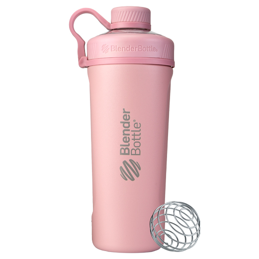 BlenderBottle&reg; Radian&#8482; Insulated Stainless Steel<br>ブレンダーボトル ラディアンステンレススチール Rose Pink