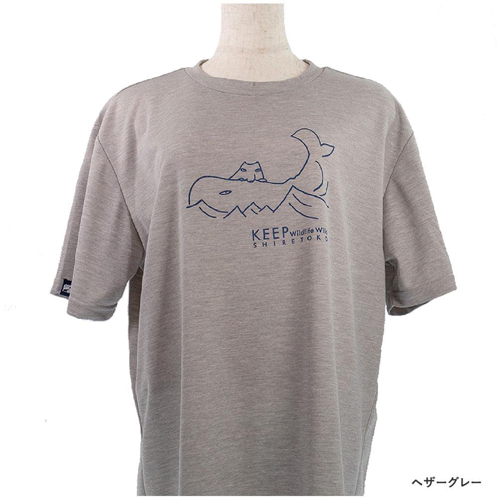 知床財団オリジナル Tシャツ  2020
