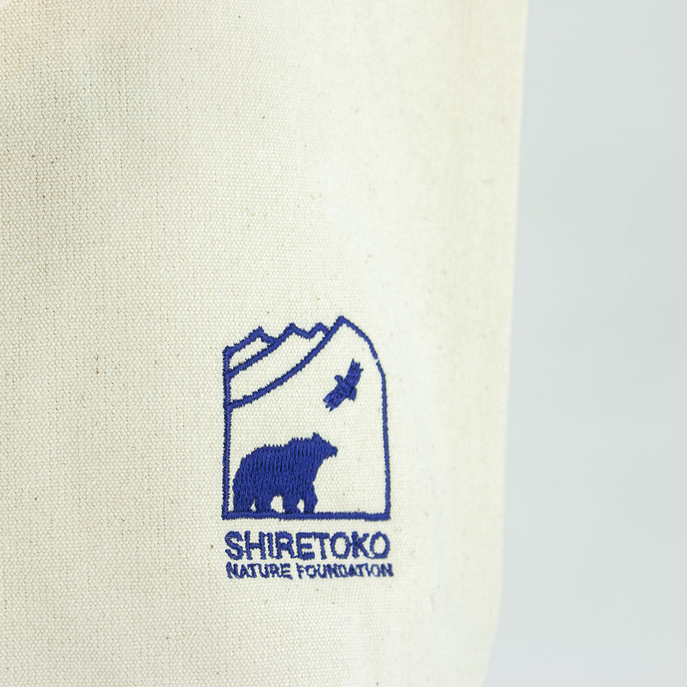知床かばんロゴ刺繍