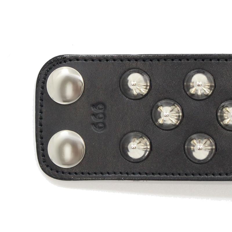 2×1連コニカルリストバンド(ボタン/2種)