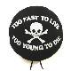 ベレー帽 TOO FAST TO LIVE(セディショナリーズ)