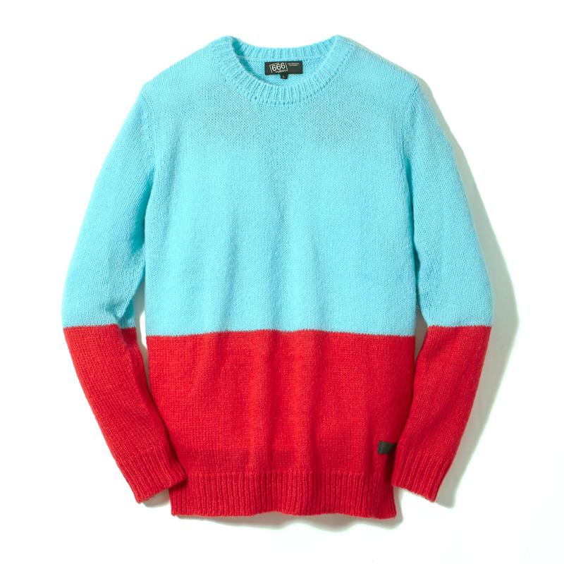 モヘアセーター