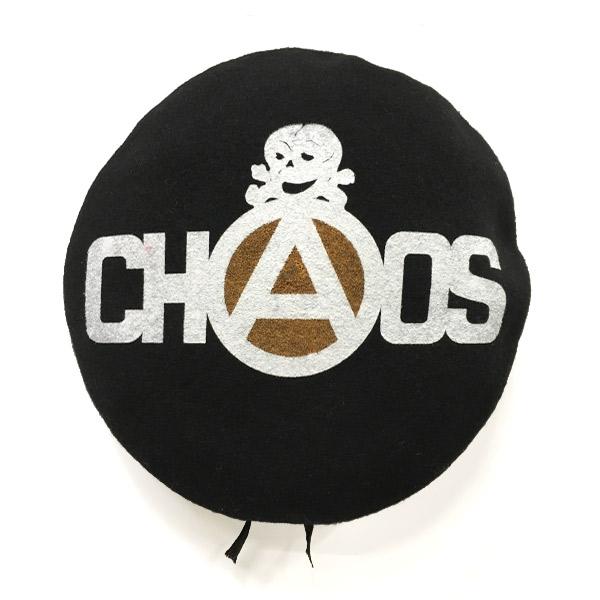 ベレー帽 CHAOS+SKULL(セディショナリーズ)
