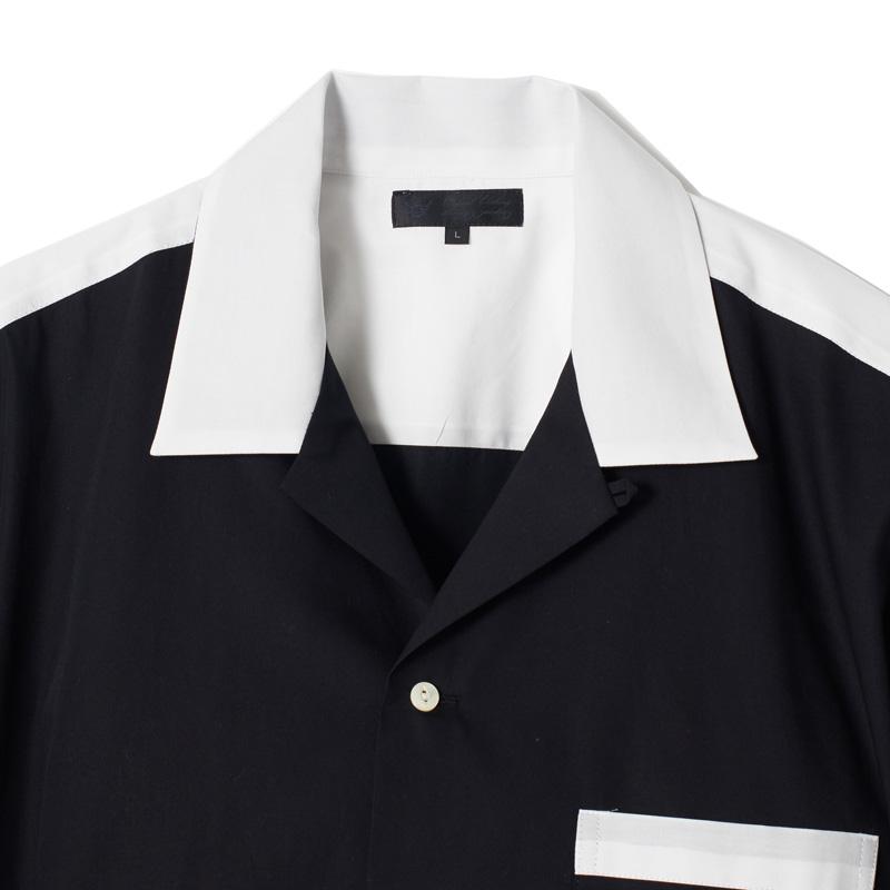 """""""1977""""オープンカラーシャツ"""