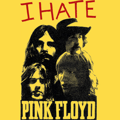 Tシャツ I HATE PINK FLOYD(セディショナリーズ)