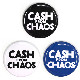 バッジ/CASH FROM CHAOS(54mm)