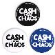 バッジ/CASH FROM CHAOS(25mm)