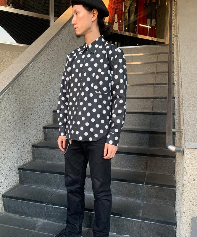 ドットシャツL/S