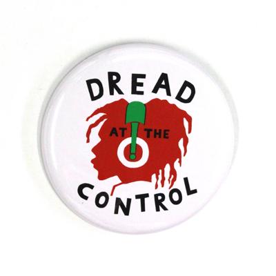 バッジ/DREAD AT THE CONTROL(54mm)