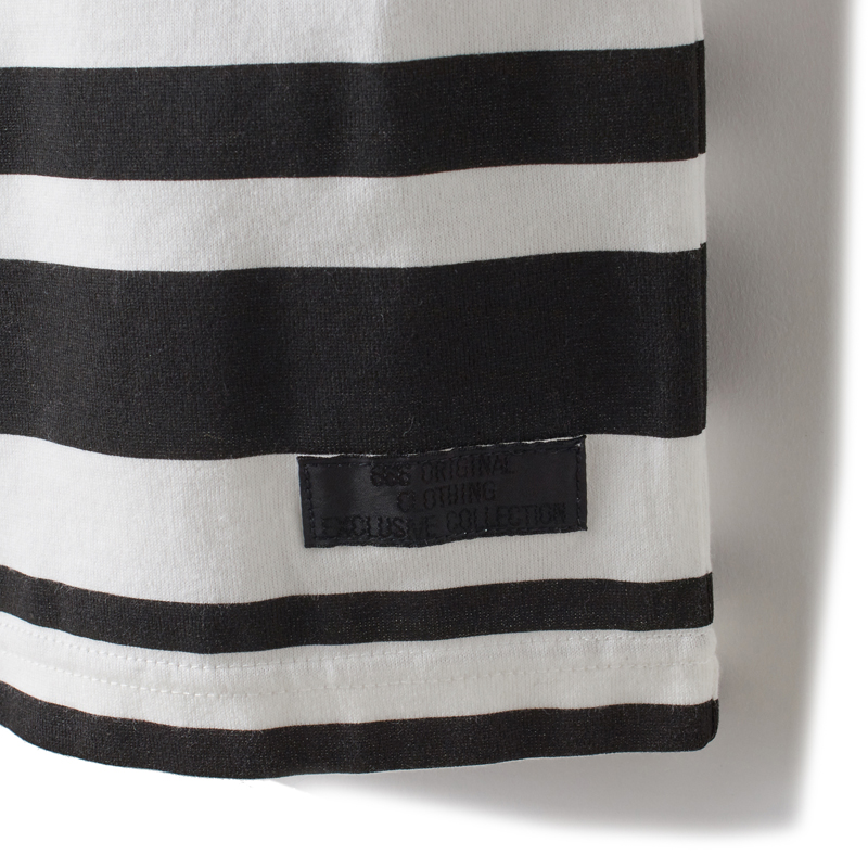 """""""1977""""マルチボーダーTシャツ"""
