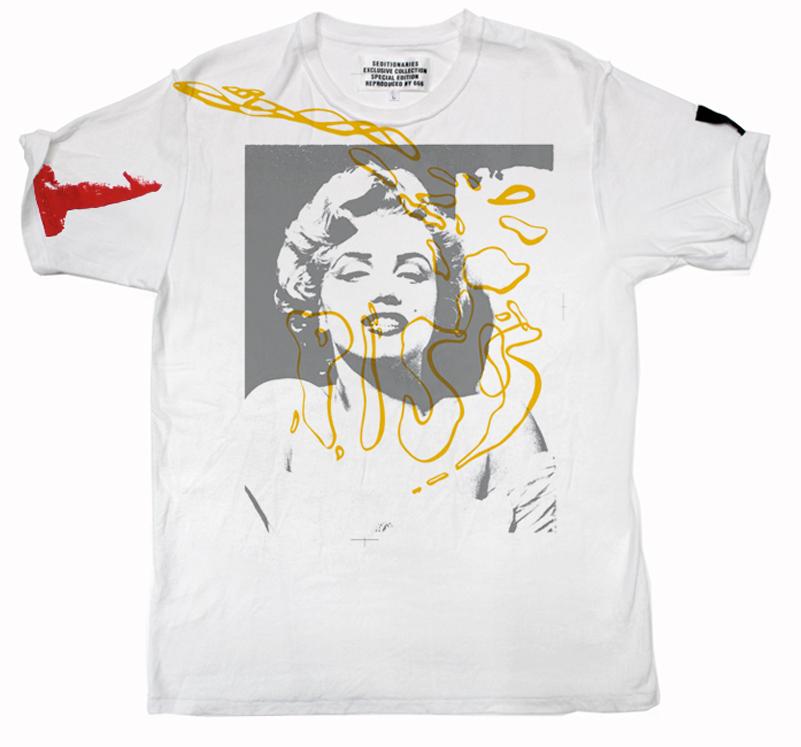Tシャツ PISS MARILYN(セディショナリーズ)