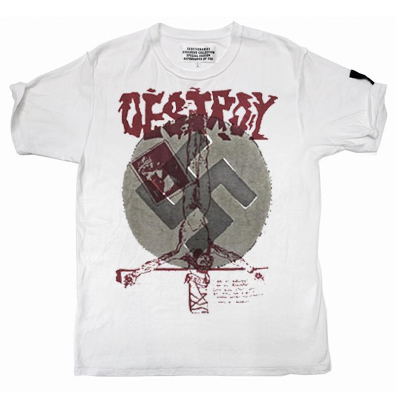 Tシャツ DESTROY(セディショナリーズ)