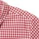 レディースギンガムチェックシャツS/S