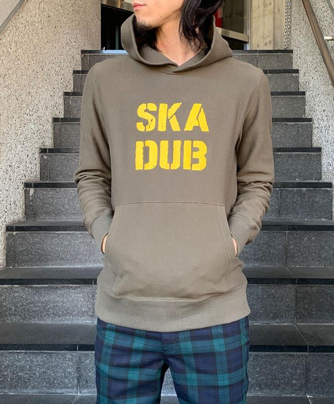 プルオーバーフーディー SKA DUB