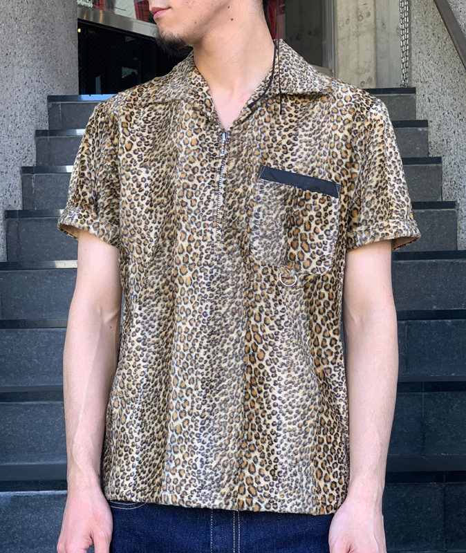 レパードスキンシャツS/S