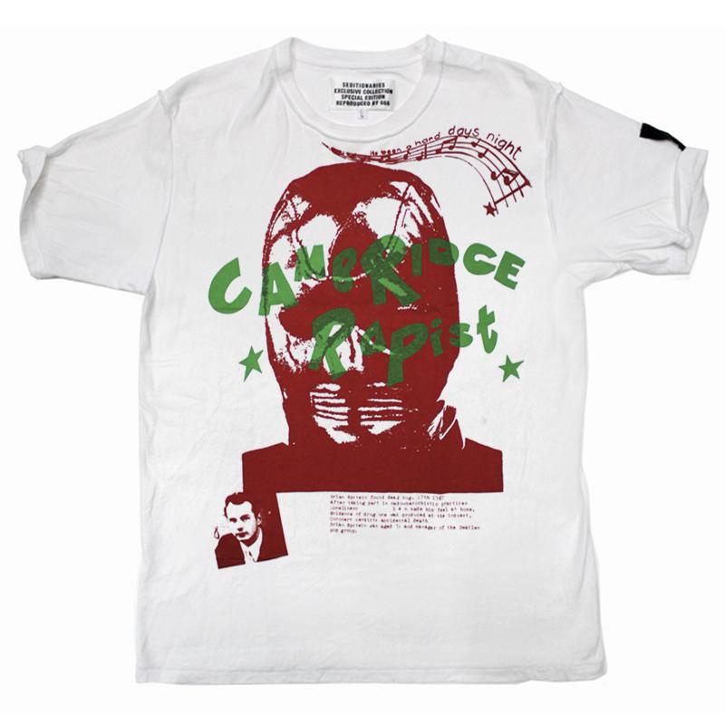 Tシャツ CAMBRIDGE RAPIST(セディショナリーズ)