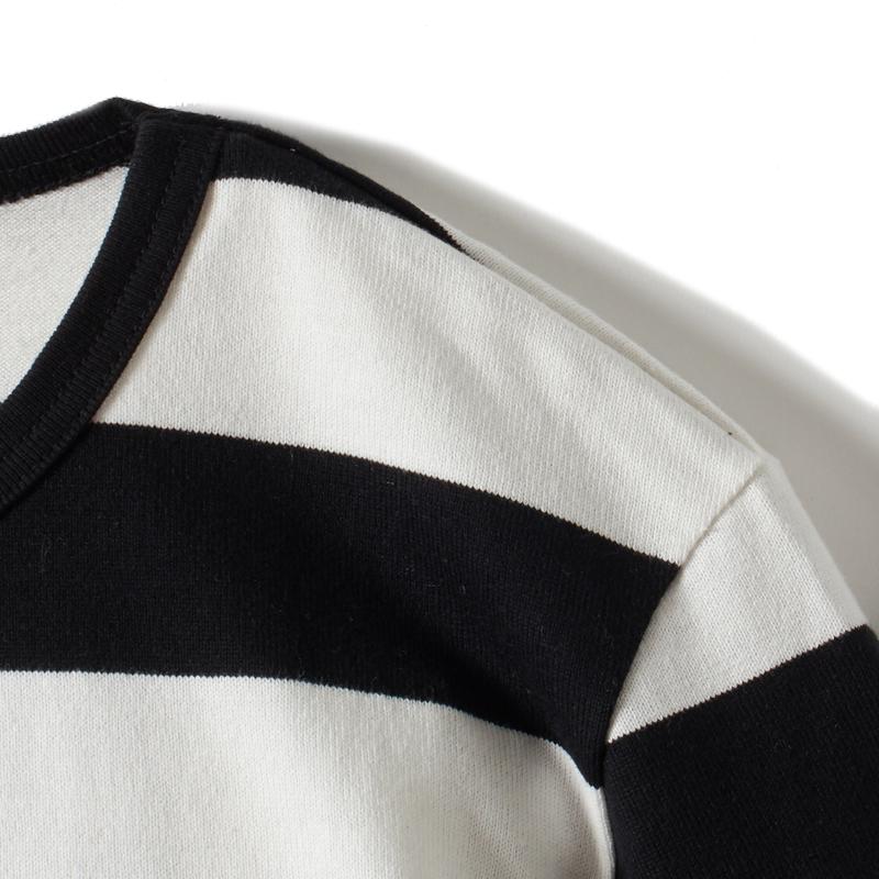 ボーダーTシャツ長袖