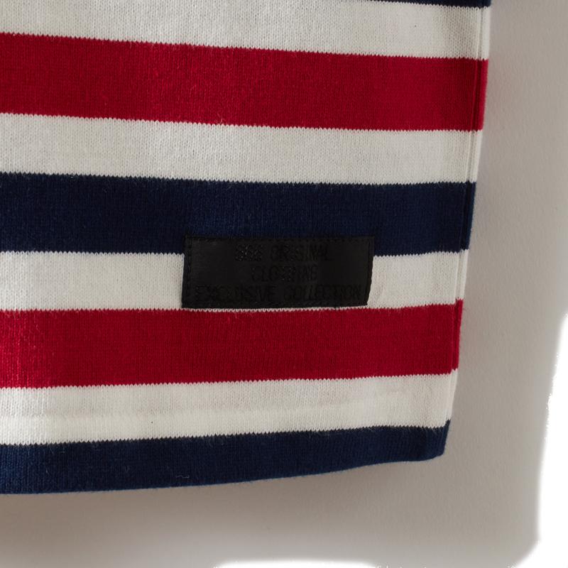 マルチボーダーTシャツ長袖