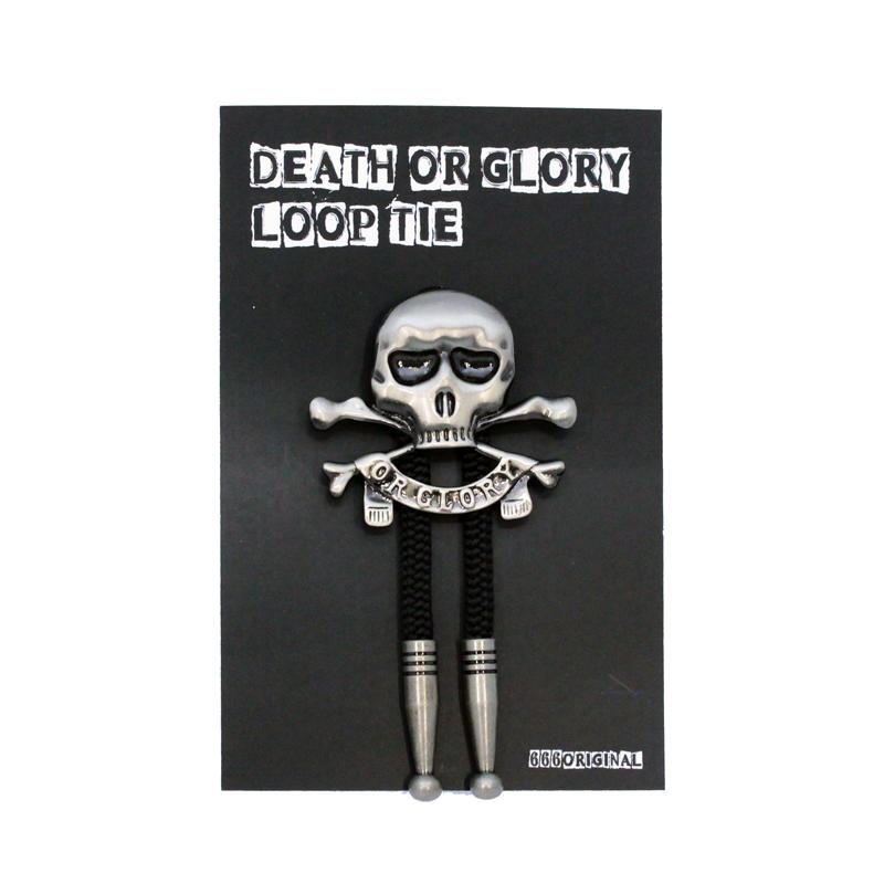 DEATH OR GLORYループタイ