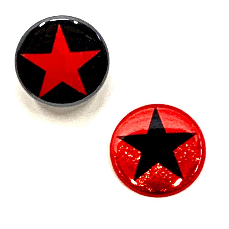 バッジ/STAR(25mm)