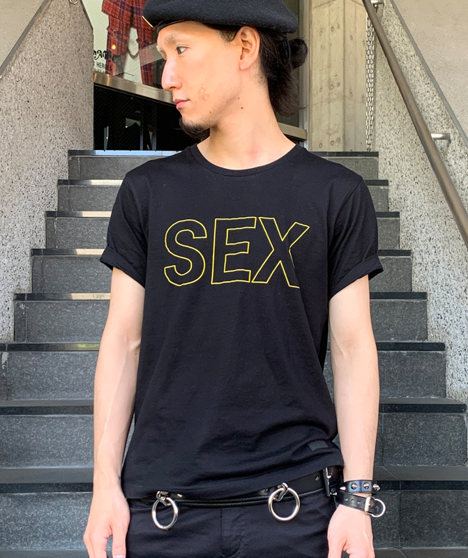 """""""1977"""" Tシャツ SEX"""