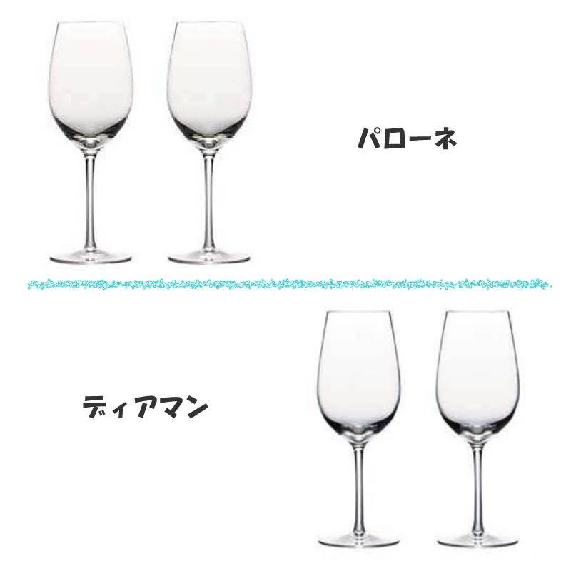 誕生日・結婚祝いメッセージ入りペアワイン(シャンパン)グラス