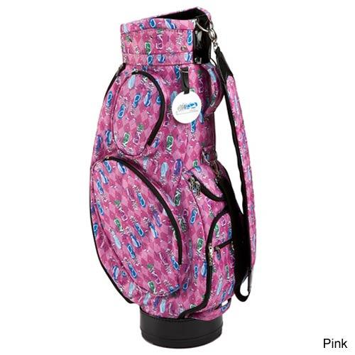 シドニーラブ ピンク ゴルフ カートバッグ