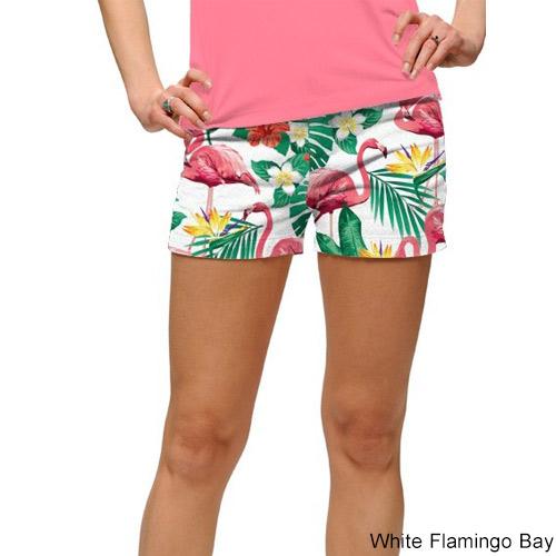 ラウドマウス レディース Flamingo Bay ミニショーツ (サイズ6,8)