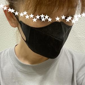 立体黒マスク◆使い捨て不織布マスク◆個別包装で携帯に便利◆KM-306◆即日発送OK◆