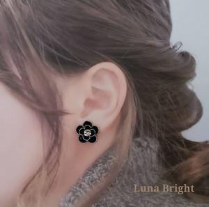 LunaBright(ルナブライト)【ルナカメリア/チタンアピアス】90005009◆即日発送OK◆