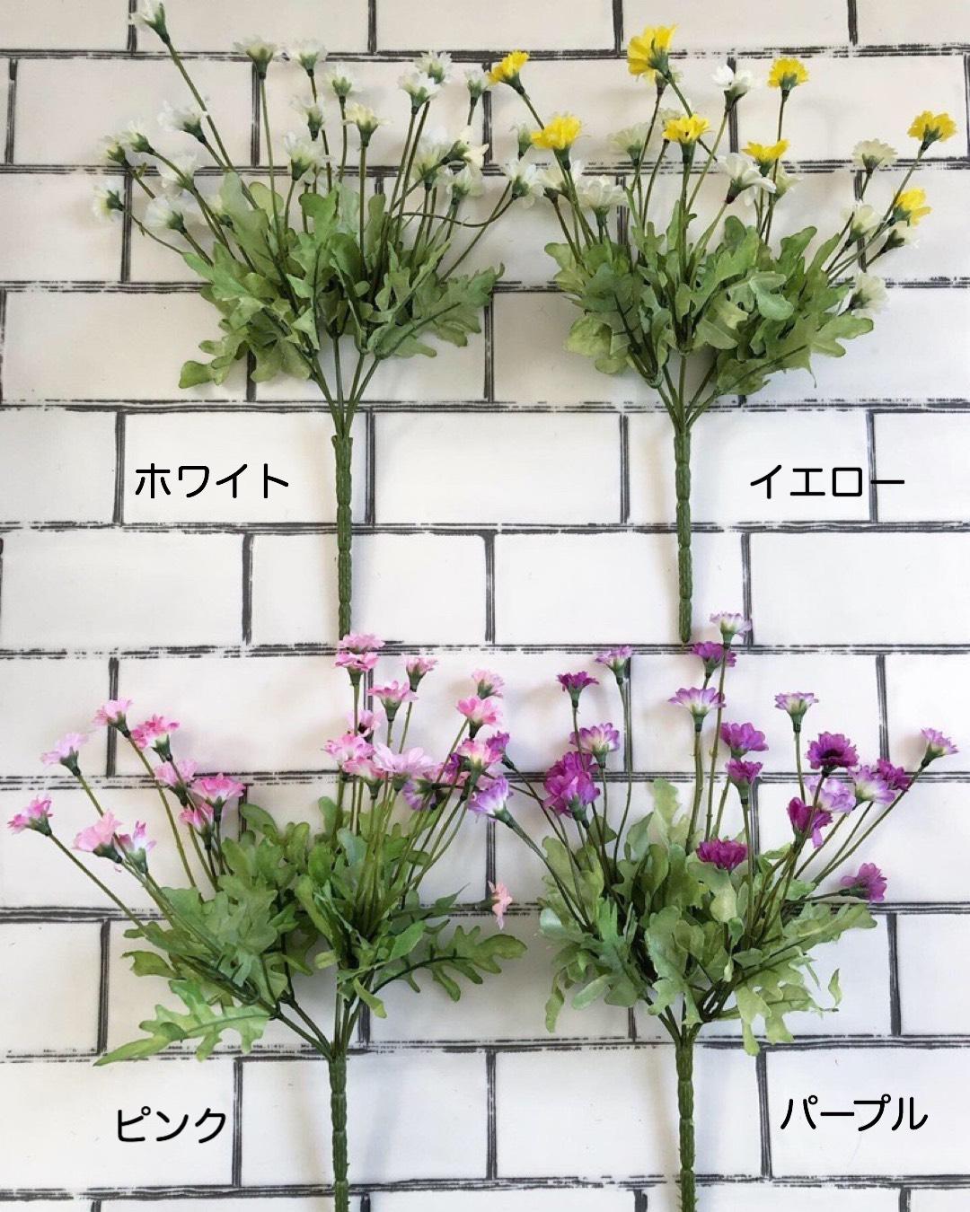 道端に咲く小花(イエロー)