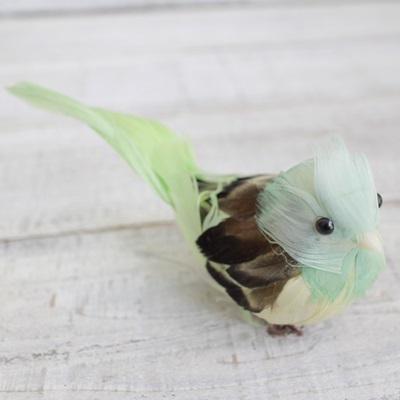 ぷっくりおなかの小鳥さん(ライトグリーン)