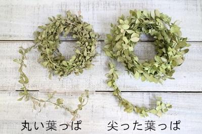 落ち葉ガーランド(丸い葉っぱ)