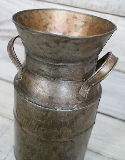 ブリキミルク缶