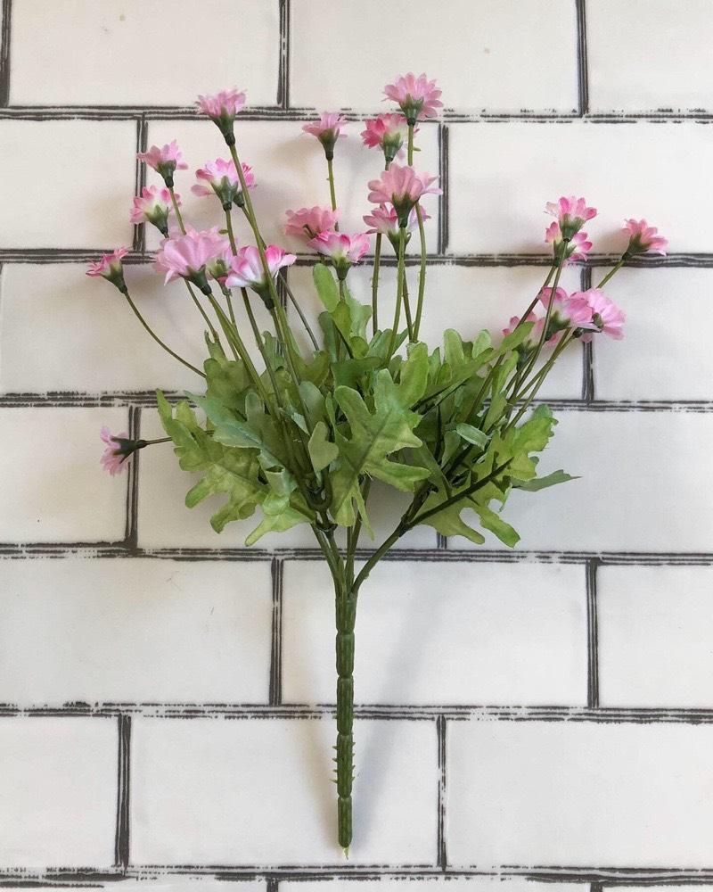 道端に咲く小花(ピンク)