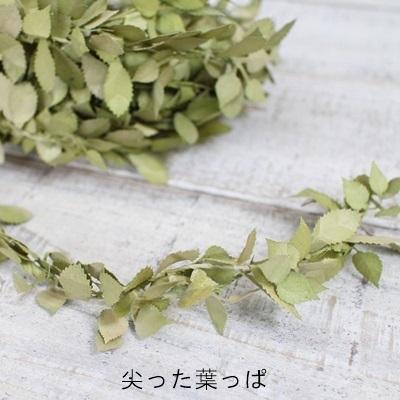 落ち葉ガーランド(尖った葉っぱ)