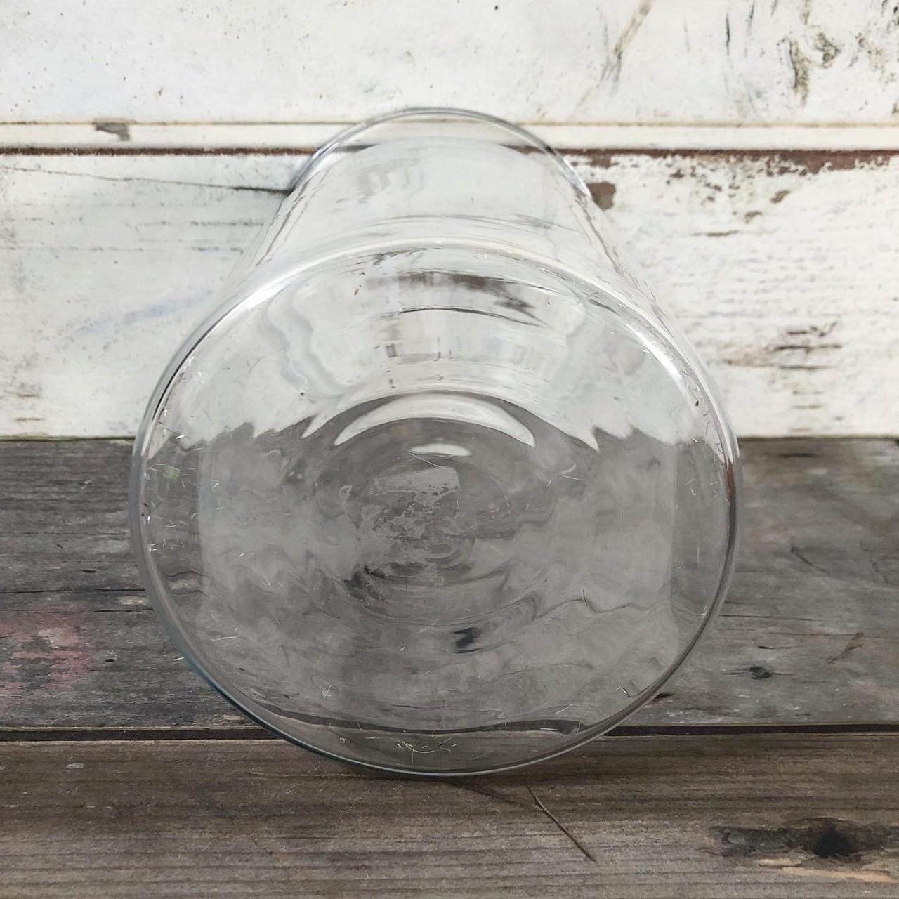 ちょいくびれガラス瓶(高さ20.5cm)