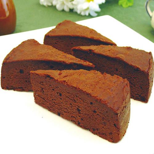 ガトークラシックショコラ 1箱4切入×12箱 業務用カットケーキ
