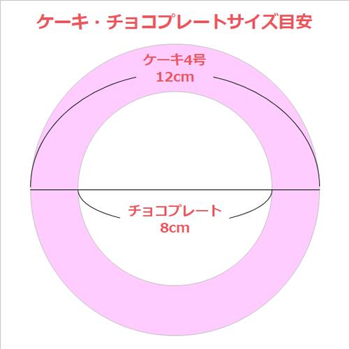 【セット】アルポルト監修ティラミス4号&写真プリントチョコプレート 直径8.0cm スクエア