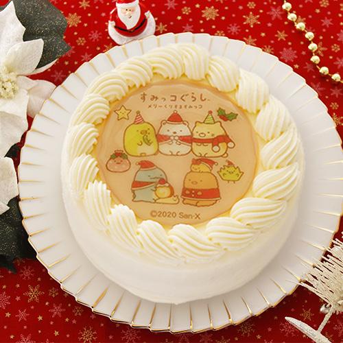 すみっコぐらしのクリスマスケーキ5号
