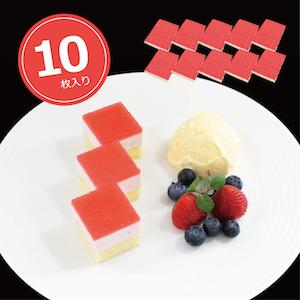 シートケーキ35 ストロベリー 10枚/1ケース 業務用シートケーキ