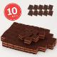 シートケーキ54 チョコ 10枚/1ケース 業務用シートケーキ
