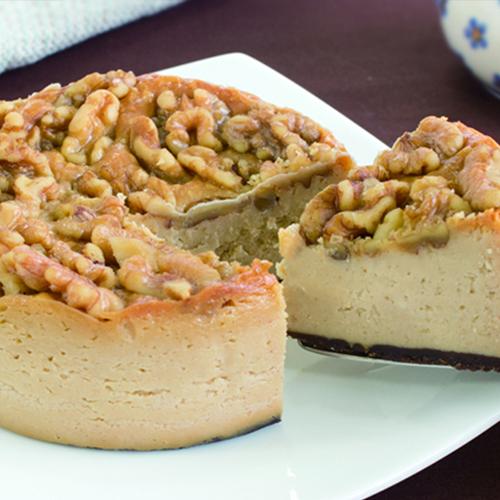 マーロウのキャラメルとクルミのチーズケーキ