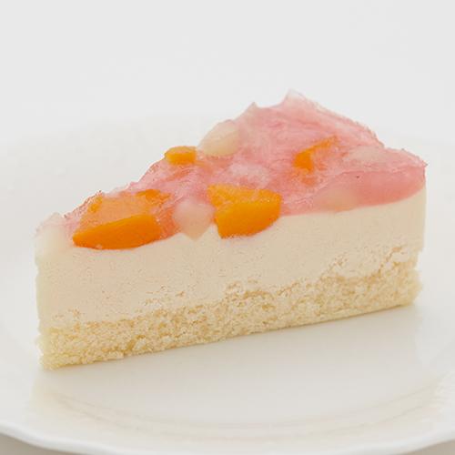 ピーチレアチーズケーキ