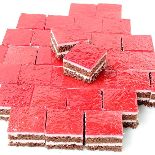 シート35ラズベリ−ショコラ 10枚/1ケース 業務用シートケーキ