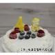 ナンバーキャンドル 4 アイボリー (ケーキとのセット販売のみ)