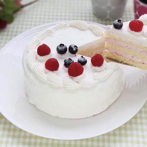 アニバーサリーケーキ5号 ロウソクつき 6台 業務用ホールケーキ