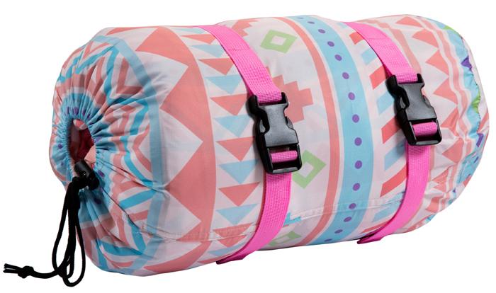 封筒型プリントスリーピングバッグ