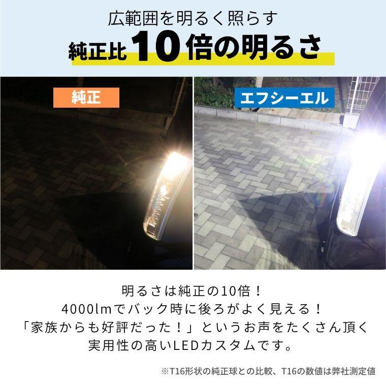 ライズ RAIZE/ロッキー LED化セット (リアウインカー バックランプ ナンバー灯 ルームランプ4点セット)